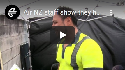 [00:03:13] Air NZ staff show they have what it takes (Behind the scenes)